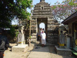 Bagian luar petilasan Mpu Bharadah
