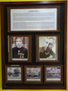 Foto Maclaine Pont di Museum Trowulan