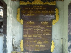 Silsilah anak cucu Mpu Bharadah