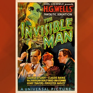 Poster Film The Invisible Man
