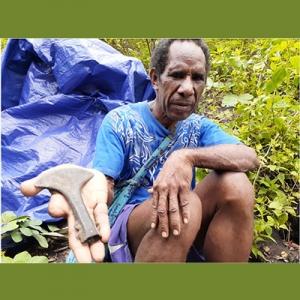 Obed Wally di Papua