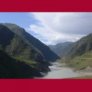 Sungai Yangtze, Kham, Tibet