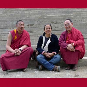Kadhheng Rinpoche dan Geshe Sonam Lobsang
