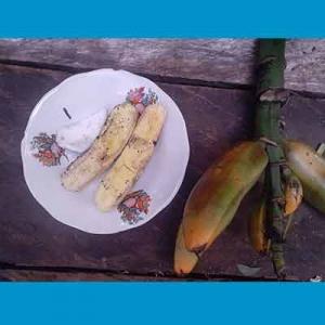 Foto kuliner pisang tongkat langit