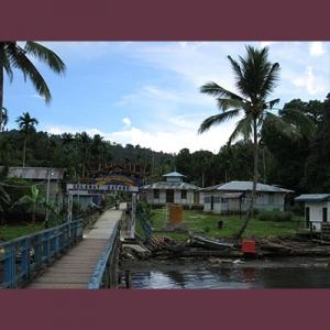 Foto Kampung Islam tertua di Papua