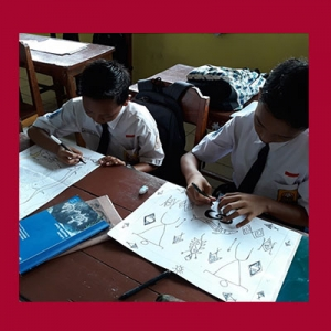 Siswa SMPN di Papua