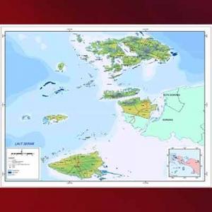 Peta Raja Ampat Papua