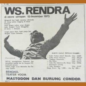 Mastodon dan Burung Kondor tahun 1973