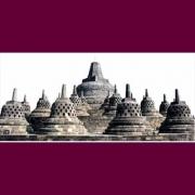 Stupa induk Candi Borobudur