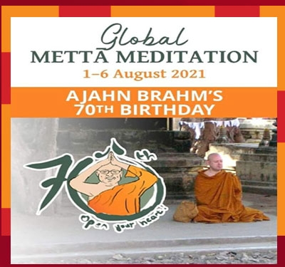 Ajahn Brahm's 70th Birthday