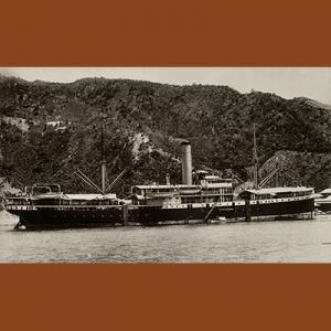 Kapal Van Imhoff, yang membawa Spies