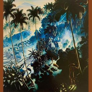 """lukisan Walter Spies """"Suatu Pagi di Iseh"""", 1938"""