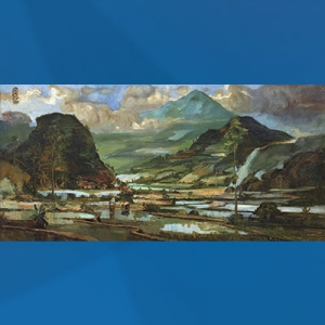 Lukisan S. Sudjojono, Pemandangan