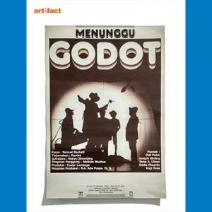 Poster Menunggu Godot