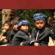 Anak-anak Baduy Dalam
