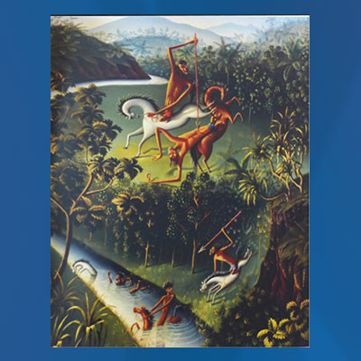 "Walter Spies, ""Balinese legend"", 1930."