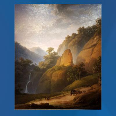 "Auguste Antoine Joseph Payen: ""The Great Postal Route near Rejapolah"","
