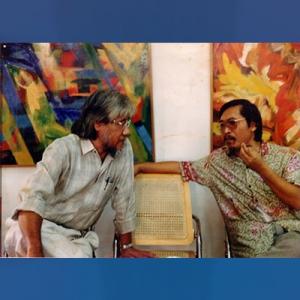 Jim Supangkat dan Sanento Yuliman.