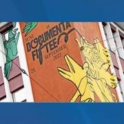 Mural tentang documenta 15